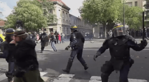 Paris – Violence on Video