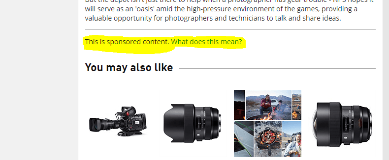 Nikon Professional Services is getting its own glam article…