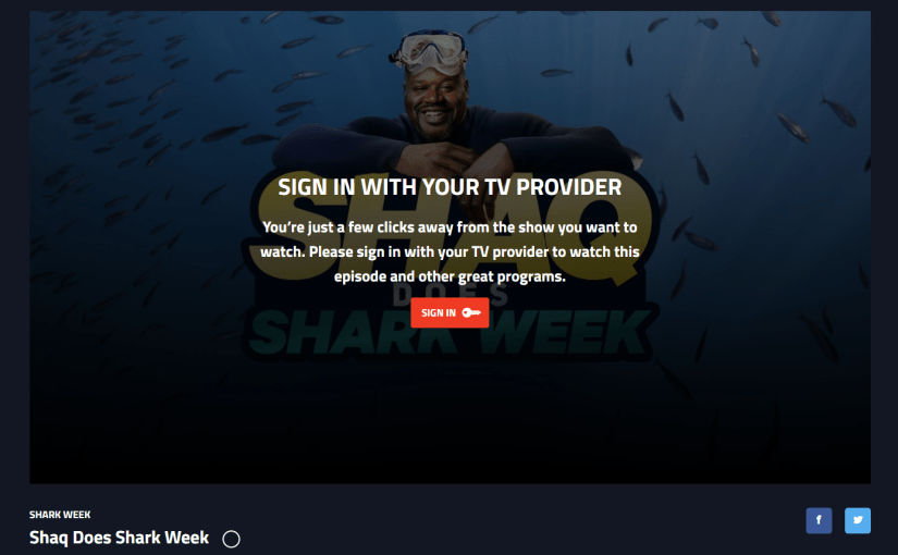 Shark Week 2018: Shaq Does Shark Week