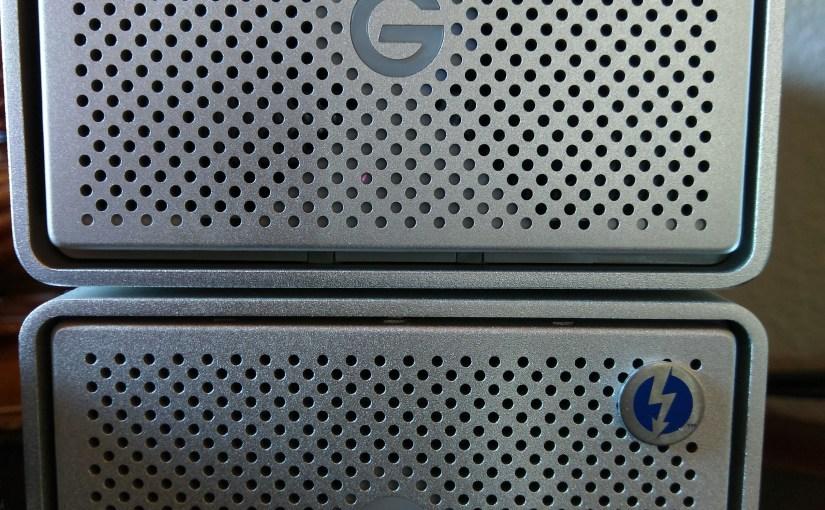 G-Technology's 8TB G-RAID – A Review