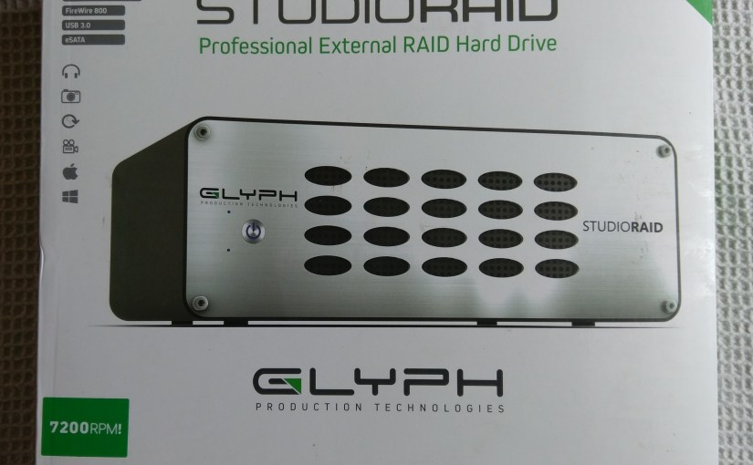 The Glyph 8TB StudioRAID Enterprise Class Reviewed