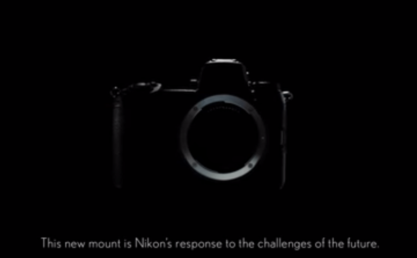 Nikon and Sony Mirrorless Full Frame Sensor Size Comparison