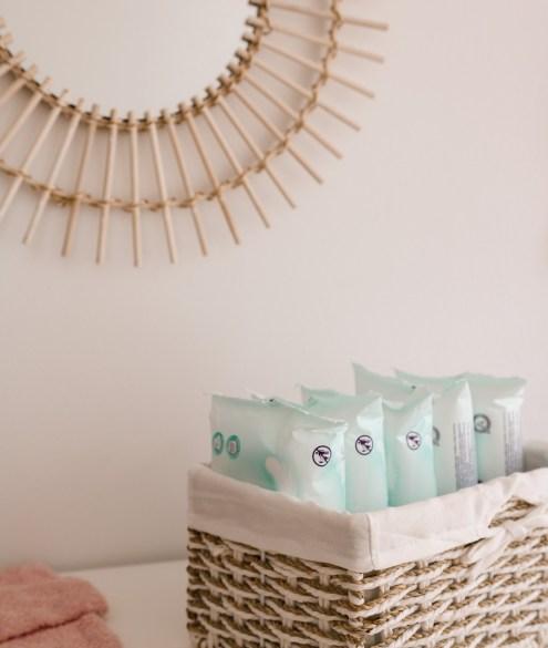 Baby Pflegeprodukte Checkliste Feuchttücher