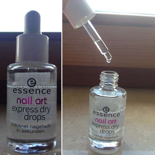Essence Quick Dry Drops Diydrysite