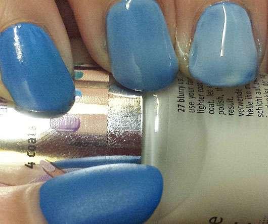 Essence Pastel Ombre Top Coat 27 Blurry Up Cinderella Trend Edition Nagellacke