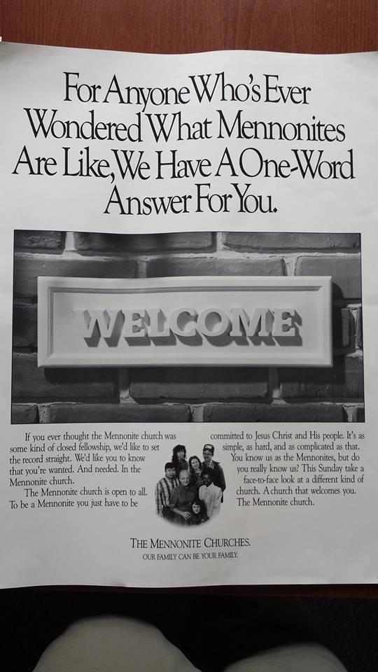 Mennonite Welcome