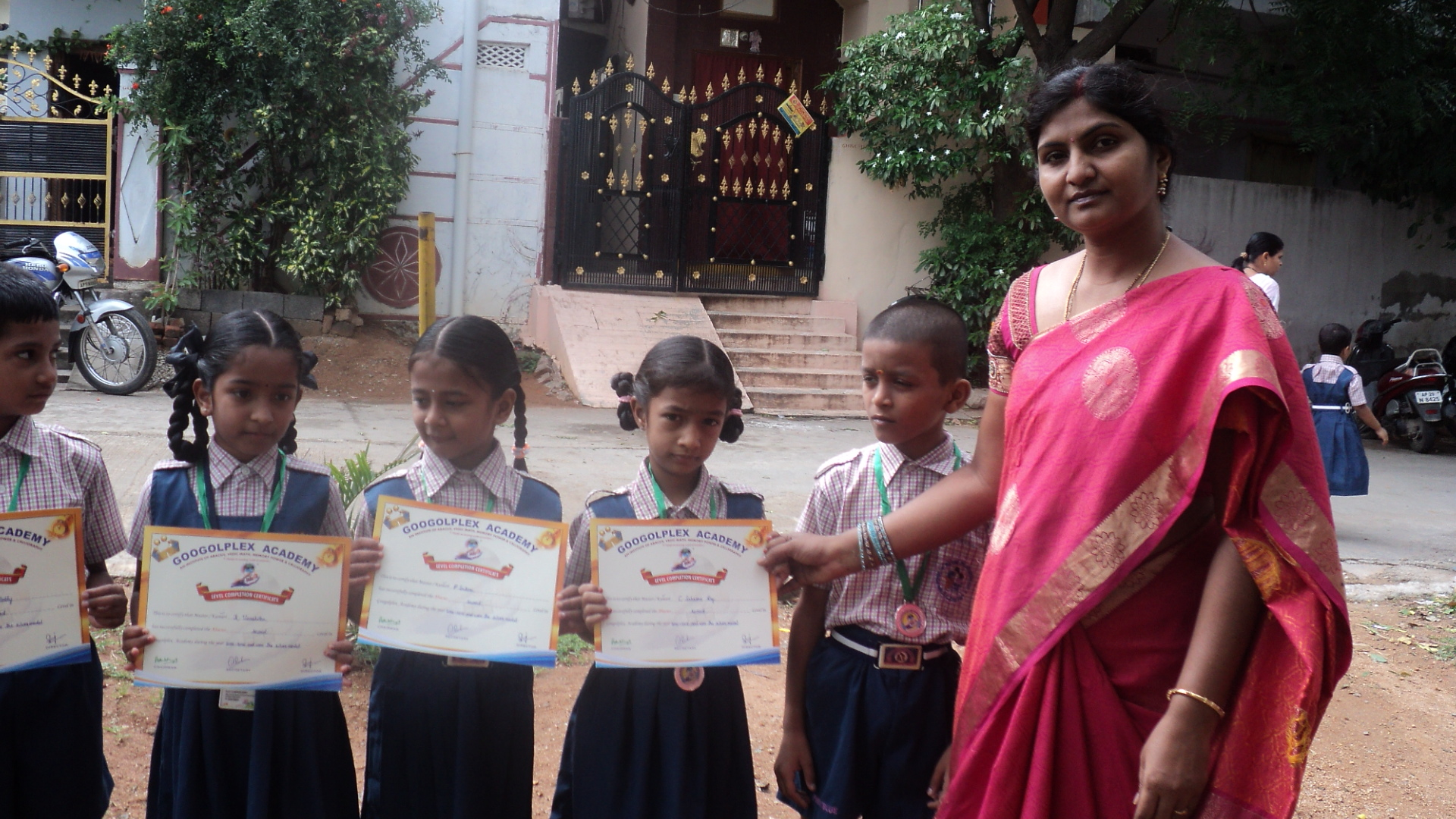 Abacus First Level Winners