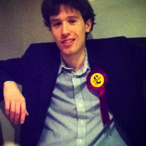 Olly Neville has been removed as chairman of UKIP's youth wing