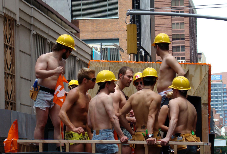 Brown gay engineer