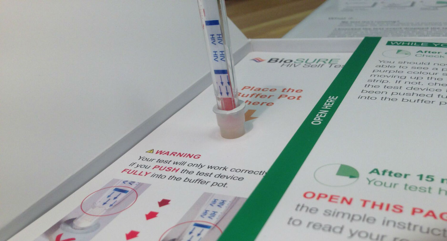 France Begins Selling Hiv Self Testing Kits That Give You A Result In 15 Minutes