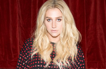 NEW YORK, NY - FEBRUARY 13:  Recording artist Kesha attends the Edie Parker presentation during Mercedes-Benz Fashion Week Fall 2015 on February 13, 2015 in New York City.  (Photo by Noam Galai/Getty Images)