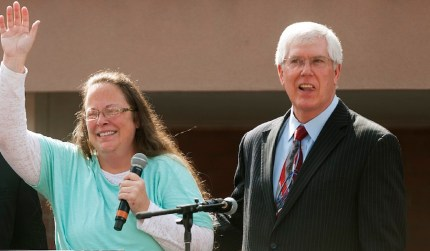 Kim Davis and May Staver