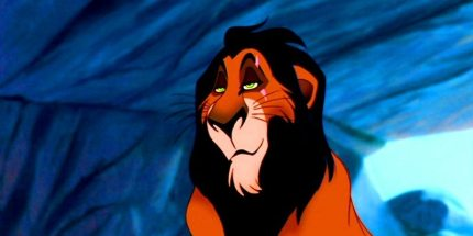 Gay Disney characters: Scar from Lion King