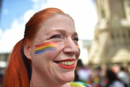 Pride woman