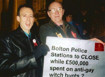 Bolton 7 protest