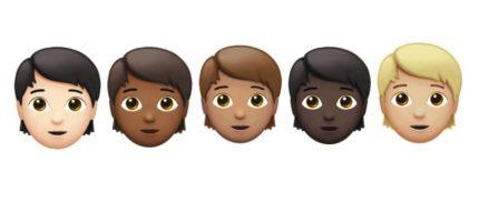 Genderless adults (Apple)