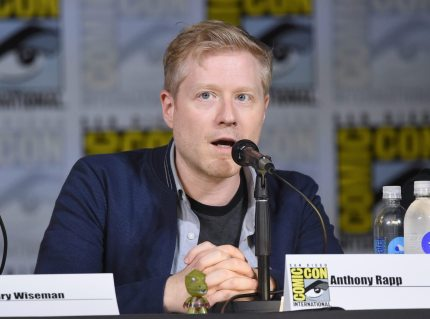 "SAN DIEGO, CA - JULY 22: Anthony Rapp attends ""Star Trek: Discovery"" panel during Comic-Con International 2017 at San Diego Convention Center on July 22, 2017 in San Diego, California. (Photo by Mike Coppola/Getty Images)"