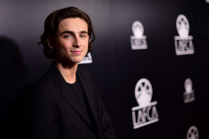 LOS ANGELES, CA - JANUARY 13: Timothee Chalamet attends the 43rd Annual Los Angeles Film Critics Association Awards on January 13, 2018 in Los Angeles, California. (Photo by Matt Winkelmeyer/Getty Images)
