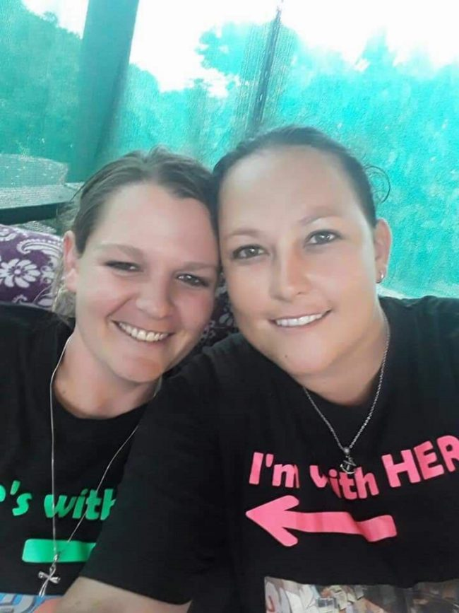 Lesbian couple who were raped and killed had their bodies soaked in acid
