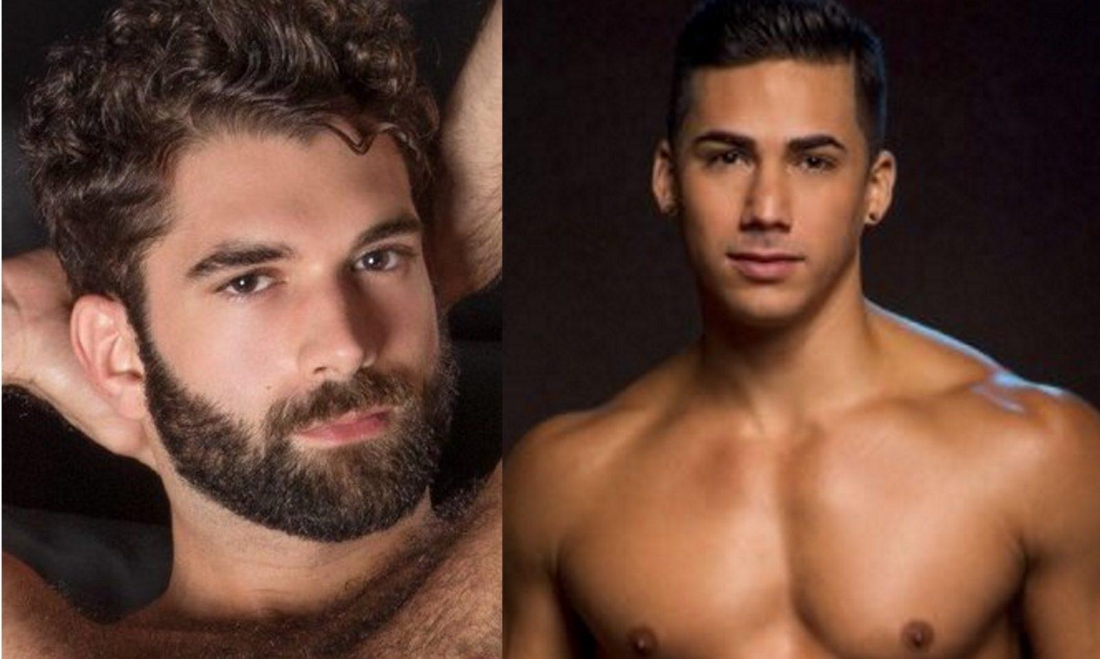 Three gay pornstars in a crazy movie