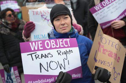 A trans campaigner.