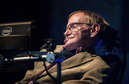 British theoretical physicist professor Stephen Hawking gives a lecture during the Starmus Festival on the Spanish Canary island of Tenerife on September 23, 2014. AFP PHOTO / DESIREE MARTIN (Photo credit should read DESIREE MARTIN/AFP/Getty Images)