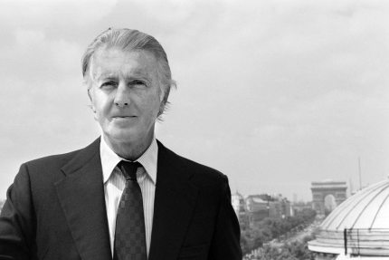French aristocrat and fashion designer Hubert de Givenchy, who died in 2018