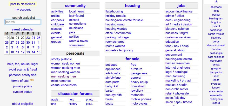 What sites have replaced craigslist personals?
