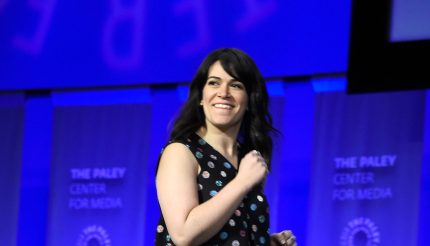 HOLLYWOOD, CA - MARCH 07: Actress Abbi Jacobson on stage at The Paley Center For Media's 32nd Annual PALEYFEST LA - A Salute To Comedy Central at Dolby Theatre on March 7, 2015 in Hollywood, California. (Photo by Frazer Harrison/Getty Images)