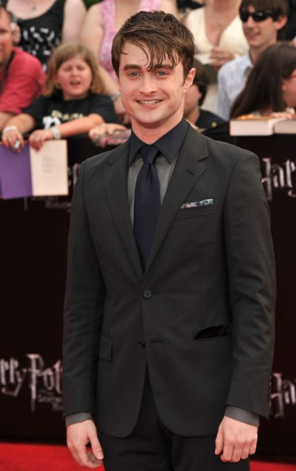"""NEW YORK, NY - JULY 11:  Actor Daniel Radcliffe attends the New York premiere of """"Harry Potter And The Deathly Hallows: Part 2"""" at Avery Fisher Hall, Lincoln Center on July 11, 2011 in New York City.  (Photo by Stephen Lovekin/Getty Images)"""