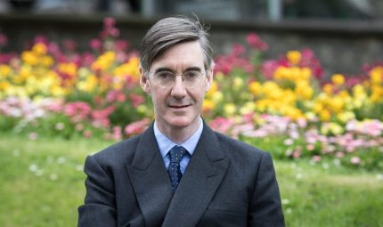 KEYNSHAM, UNITED KINGDOM - MAY 04: Conservative MP Jacob Rees-Mogg poses for a photograph near his constituency office in Keynsham on May 4, 2018 in North East Somerset, United Kingdom. In a recent interview, the pro-Brexit leader of the European Research Group, had hit back at his critics who have claimed he was to Brexit negotiations 'what Russia is to the UN's Security Council' and instead insisted he was acting to help deliver the EU referendum result and that the ERG were simply encouraging the government to keep its promises. (Photo by Matt Cardy/Getty Images)