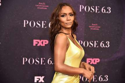 "Janet Mock attends the ""Pose"" New York Premiere at Hammerstein Ballroom on May 17, 2018 in New York City (Photo by Theo Wargo/Getty Images)"