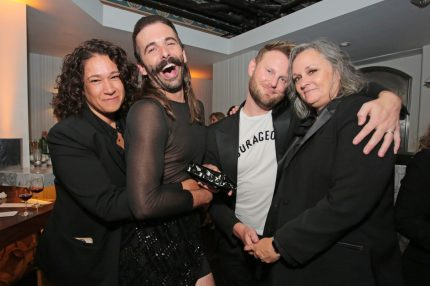 Jonathan Van Ness at the Emmy Awards. The star is set to make his broadway debut