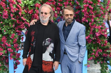 Bjorn Ulvaeus and Benny Andersson of ABBA