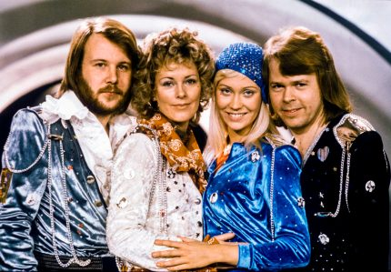 ABBA members Benny Andersson, Anni-Frid Lyngstad, Agnetha Faltskog and Bjorn Ulvaeus