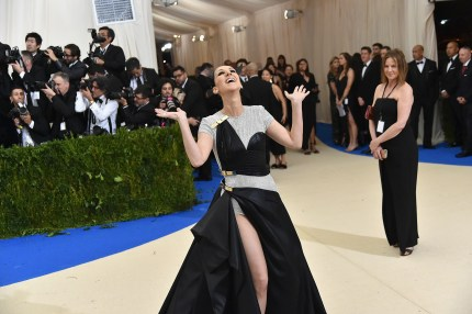 """Celine Dion attends the """"Rei Kawakubo/Comme des Garcons: Art Of The In-Between"""" Costume Institute Gala at the Metropolitan Museum of Art"""