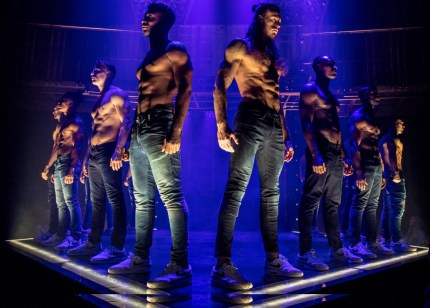 Picture of the dancers in Magic Mike Live