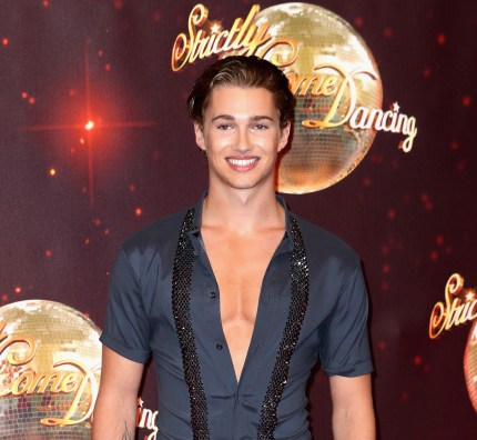 AJ Pritchard arrives for the launch of Strictly Come Dancing 2016