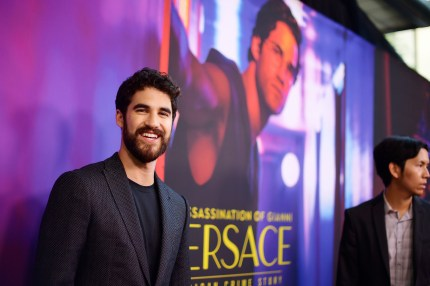"""Darren Criss attends the panel and photo call for FX's """"The Assassination of Gianni Versace: American Crime Story."""""""