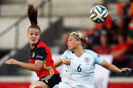 Lesbian footballer Gilly Flaherty opens up about sexuality