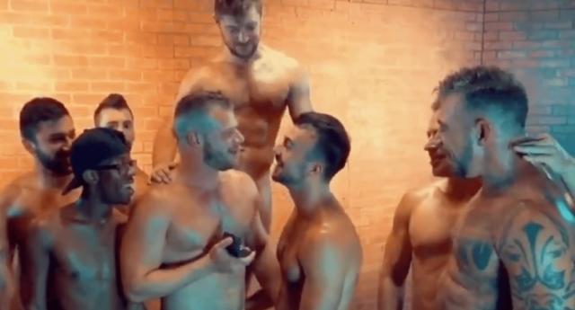 LGBT orgie