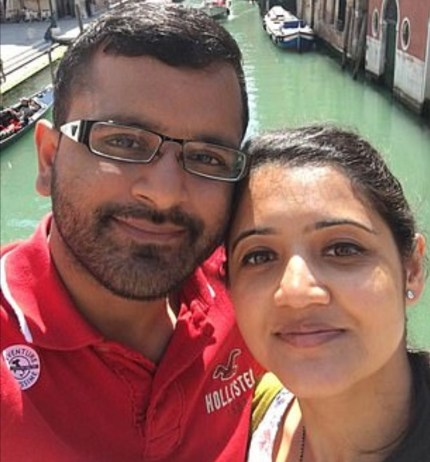 Pharmacist co-owners Mitesh Patel and his wife Jessica Patel, who he killed on May 14