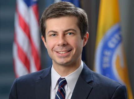 Mayor of South Bend, Indiana Pete Buttigieg