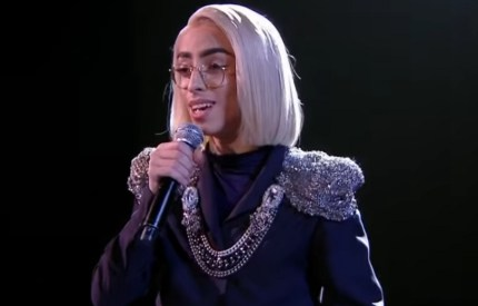 Bilal Hassani winning the chance to compete for France in the Eurovision final