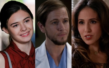Stills from GLAAD nominees Supergirl, Grey's Anatomy and Crazy Ex-Girlfriend