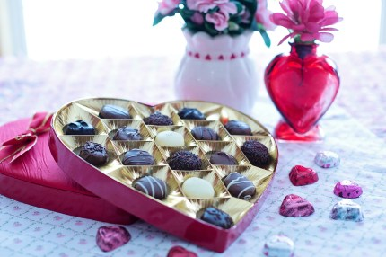 Valentine's Day gifts: chocolates