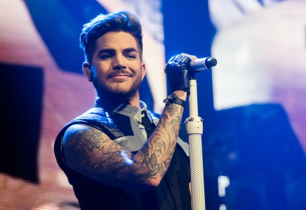 Singer Adam Lambert performs in concert at Terminal 5 on March 3, 2016 in New York City.
