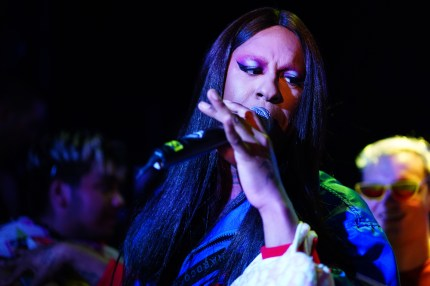 Mykki Blanco performs at 'Diesel x Boiler Room: Another Basel Event' at 1306 Miami on December 06, 2018 in Miami, Florida.