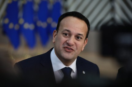 Taoiseach Leo Varadka arrives at the European Council during the two day EU summit on December 14, 2018 in Brussels, Belgium.