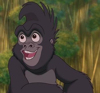 Gay Disney characters: Terkina from Tarzan
